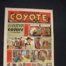 Tebeos: EL COYOTE - LA SENTENCIA DEL COYOTE - Nº 3 - EDIC. CLIPER - - ORIGINAL - . Lote 36141789
