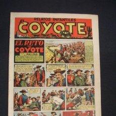 Tebeos: EL COYOTE - EL RETO DEL COYOTE - Nº 4 - EDIC. CLIPER - ORIGINAL - . Lote 36141889