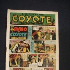 Tebeos: EL COYOTE - UN AVISO DEL COYOTE - Nº 9 - EDIC. CLIPER - ORIGINAL - . Lote 36142553