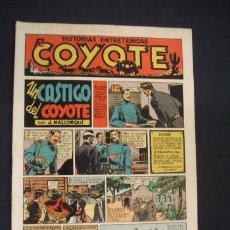 Tebeos: EL COYOTE - UN CASTIGO DEL COYOTE - Nº 10 - EDIC. CLIPER - ORIGINAL - . Lote 36142606