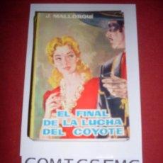 Tebeos: EDICIONES CID EL COYOTE (J.MALLORQUI) NUMERO 18. Lote 36167438