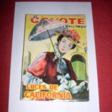 Tebeos: EDICIONES CID EL COYOTE (J.MALLORQUI) NUMERO 60. Lote 36167736