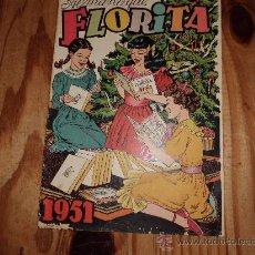 Tebeos: FLORITA ALMANAQUE 1951. Lote 36342458