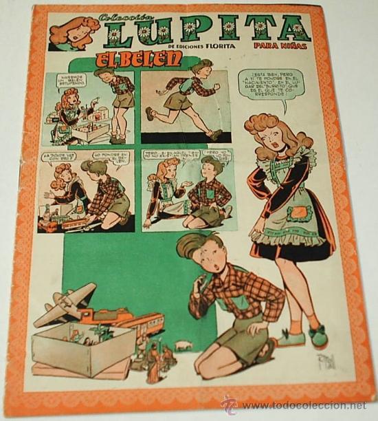 LUPITA Nº 30 CLIPER -- ORIGINAL 1950 -IMPORTANTE LEER TODO (Tebeos y Comics - Cliper - Otros)