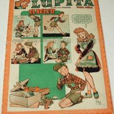 Tebeos: LUPITA Nº 30 CLIPER -- ORIGINAL 1950 - LEER. Lote 37004306