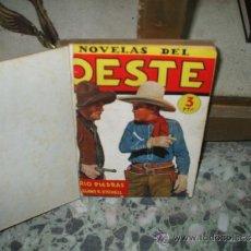 Libro de novelas oeste encuadernadas ediciones Cliper