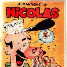Tebeos - ALMANQUE DE NICOLAS 1952 (A-COMIC-2691) - 37615011