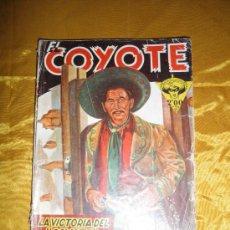 Tebeos: EL COYOTE Nº 10 : LA VICTORIA DEL COYOTE. J. MALLORQUI. EDICIONES CLIPER *. Lote 37692836