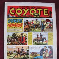 Tebeos: EL COYOTE Nº 1. EL COYOTE CABALGA. ORIGINAL. EDITORIAL CLIPER. MALLORQUÍ, BATET.. Lote 37804954