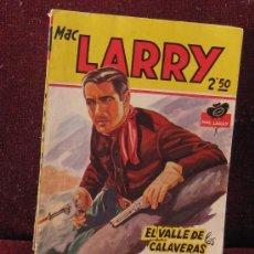 Tebeos: MAC LARRY. EL VALLE DE LAS CAVERNAS. Nº12.. Lote 38186877