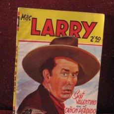 Tebeos: MAC LARRY. BAT VALENTINO EN EL CAÑÓN PERDIDO. Nº21.. Lote 38186979