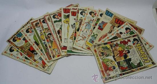LOTE DE 15 TEBEOS DE FLORITA, ESTAN LOS NUMEROS 163-164-168- 169- 173- 189-195-200-203-209-214-215-2 (Tebeos y Comics - Cliper - Florita)