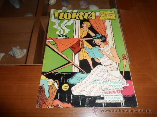 FLORITA Nº 345 EDICIONES CLIPER (Tebeos y Comics - Cliper - Florita)