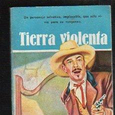 Tebeos: NOVELAS DEL OESTE. J. MALLORQUI. TIERRA VIOLENTA. Nº 53. EDICIONES CLIPER. Lote 39714153