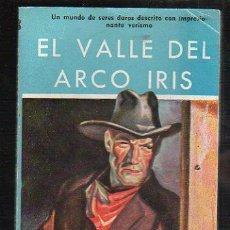 Tebeos: NOVELAS DEL OESTE. J. MALLORQUI. EL VALLE DEL ARCO IRIS. Nº 48. EDICIONES CLIPER. Lote 39714177