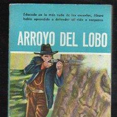 Tebeos: NOVELAS DEL OESTE. J. MALLORQUI. ARROYO DEL LOBO. Nº 70. EDICIONES CLIPER. Lote 57095769