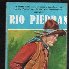 Tebeos: NOVELAS DEL OESTE. J. MALLORQUI. RIO PIEDRAS. Nº 40. EDICIONES CLIPER. Lote 39714532