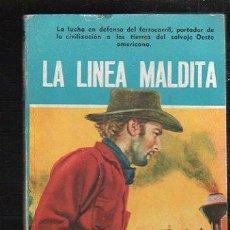 Tebeos: NOVELAS DEL OESTE. J. MALLORQUI. LA LINEA MALDITA. Nº 35. EDICIONES CLIPER. Lote 39714563