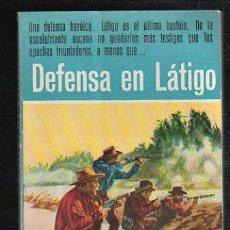Tebeos: NOVELAS DEL OESTE. J. MALLORQUI. DEFENSA EN LATIGO. Nº 10. EDICIONES CLIPER. Lote 57095782