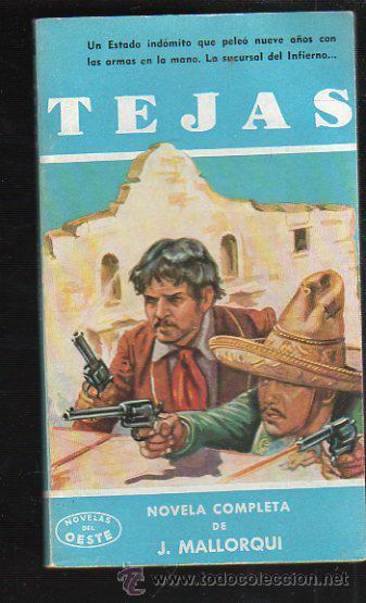 NOVELAS DEL OESTE. J. MALLORQUI. TEJAS. Nº 26. EDICIONES CLIPER (Tebeos y Comics - Cliper - Otros)