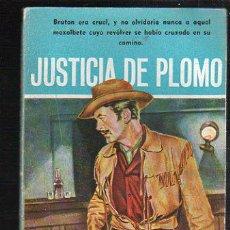 Tebeos: NOVELAS DEL OESTE. J. MALLORQUI. JUSTICIA DE PLOMO. Nº 24. EDICIONES CLIPER. Lote 39715250
