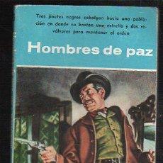 Livros de Banda Desenhada: NOVELAS DEL OESTE. J. MALLORQUI. HOMBRES DE PAZ. Nº 29. EDICIONES CLIPER. Lote 39715343
