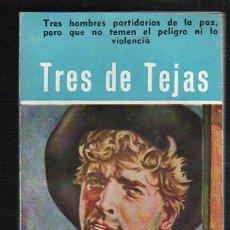 Tebeos: NOVELAS DEL OESTE. J. MALLORQUI. TRES DE TEJAS. Nº 19. EDICIONES CLIPER. Lote 39715365