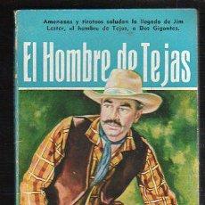 Tebeos: NOVELAS DEL OESTE. J. MALLORQUI. EL HOMBRE DE TEJAS. Nº 36. EDICIONES CLIPER. Lote 39715404