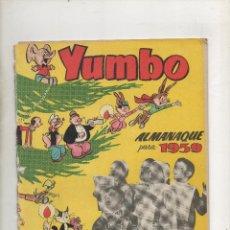Tebeos: YUMBO ALMANAQUE 1959 . CLIPER . Lote 40002088