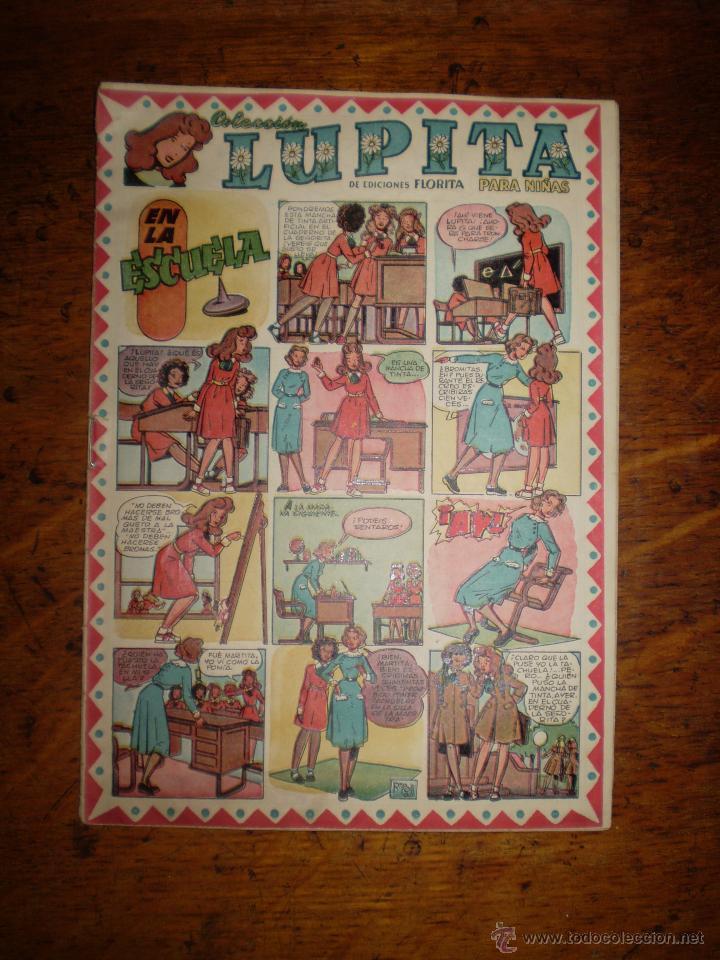 LUPITA Nº 22 - COLECCION PARA NIÑAS - ORIGINAL MUY BONITO DE CLIPER (Tebeos y Comics - Cliper - Otros)