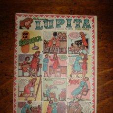 Tebeos: LUPITA Nº 22 - COLECCION PARA NIÑAS - ORIGINAL MUY BONITO DE CLIPER. Lote 40078721