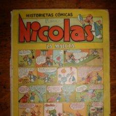 Tebeos: NICOLAS Nº 2 - LA MALETA - CLIPER - 1948. Lote 40310984