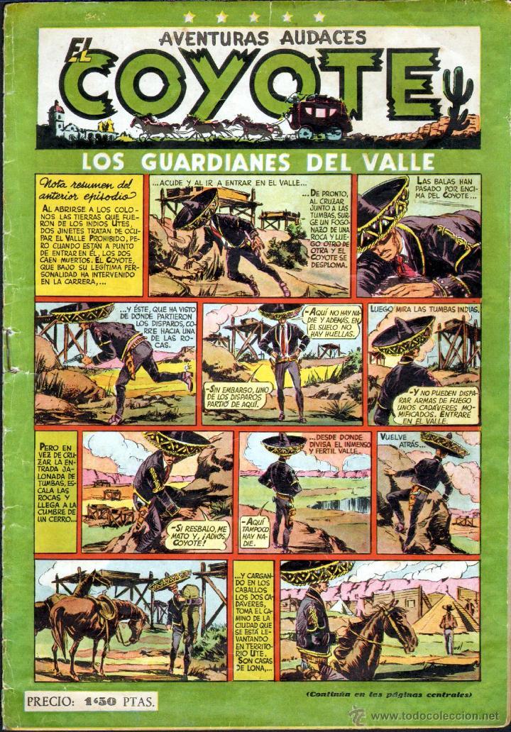 TEBEOS-COMICS GOYO - COYOTE - Nº 14 - ED. CLIPER - 1947 - DIFICIL ORIGINAL *AA99 (Tebeos y Comics - Cliper - El Coyote)