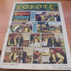 Tebeos: EL COYOTE Nº 9 UN AVISO DEL COYOTE (ORIGINAL ED. CLIPER) (CLA4). Lote 40759554