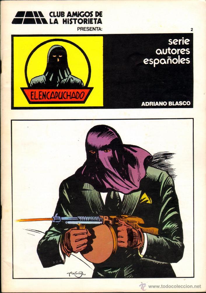 TEBEOS-COMICS GOYO - ENCAPUCHADO - ALBUM 2 - CAH - 197? - BLASCO - MUY DIFICIL - *CC99 (Tebeos y Comics - Cliper - Otros)