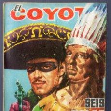 Tebeos: EL COYOTE Nº 76. SEIS BALAS DE PLATA. J. MALLORQUI. EDICIONES CID. MADRID. 1962.. Lote 41124442