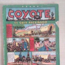 Tebeos: EL GUÍA ASESINADO, EL COYOTE AÑOS 1948-50 (1,50 PTS).. Lote 41287706