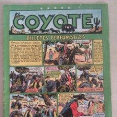 Tebeos: Nº 42 BILLETES PERFUMADOS,, EL COYOTE AÑOS 1948-50 (1,50 PTS) CLIPER. Lote 41287824