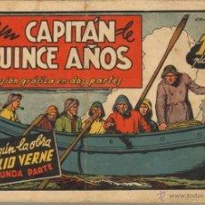 Tebeos: TEBEOS-COMICS CANDY - PELICULAS FAMOSAS - Nº 2 - UN CAPITAN DE QUINCE AÑOS - BLASCO *AA99. Lote 41455100