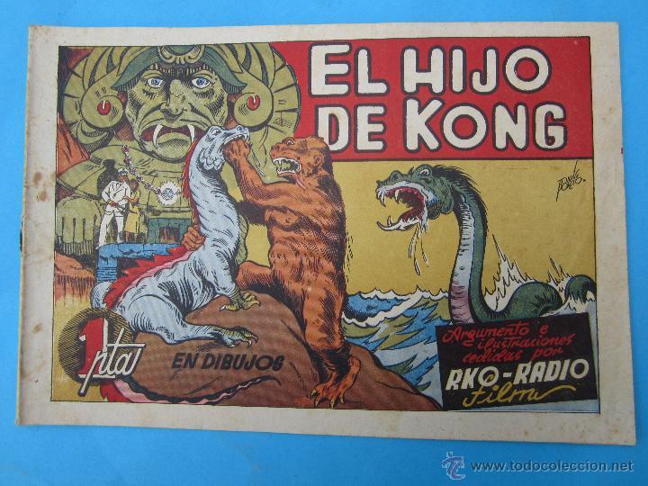 COLECCION PELICULA FAMOSAS N. 12 - EL HIJO DE KONG RKO RADIO FILM EDITORIAL CISNE 1942 (Tebeos y Comics - Cliper - Otros)