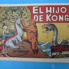 Tebeos: COLECCION PELICULA FAMOSAS N. 12 - EL HIJO DE KONG RKO RADIO FILM EDITORIAL CISNE 1942. Lote 42443294