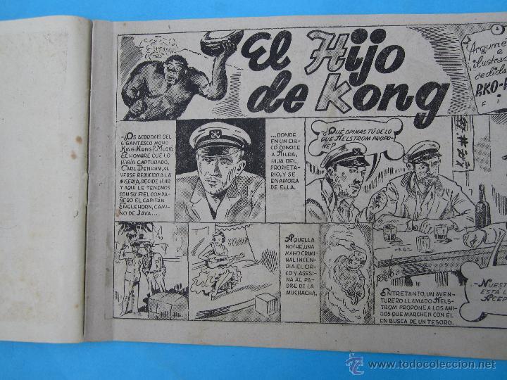 Tebeos: coleccion pelicula famosas n. 12 - el hijo de kong rko radio film editorial cisne 1942 - Foto 2 - 42443294