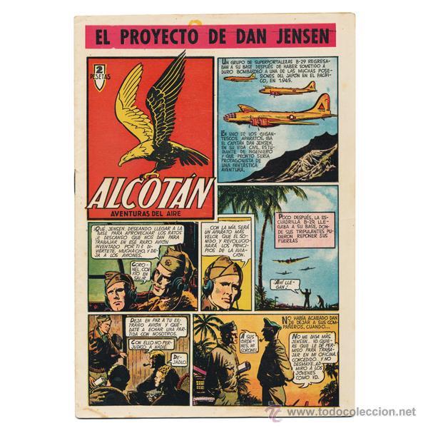 ALCOTÁN. CLÍPER, 1951. COMPLETA (12 EJEMPLARES). CONSERVACIÓN BUENA E INCLUSO MEJOR. RARA ASÍ. (Tebeos y Comics - Cliper - Otros)