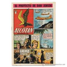 Tebeos: ALCOTÁN. CLÍPER, 1951. COMPLETA (12 EJEMPLARES). CONSERVACIÓN BUENA E INCLUSO MEJOR. RARA ASÍ.. Lote 42526050