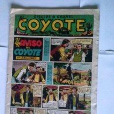 Tebeos: EL COYOTE Nº 9-CLIPER - BIEN. Lote 42655926