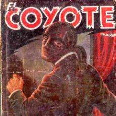 Tebeos: EL COYOTE Nº 30 LA HUELLA AZUL EDICIONES CLIPER 1ª EDICION. Lote 42660718
