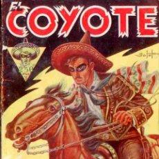 Tebeos: EL COYOTE Nº 1 LA VUELTA DEL COYOTE EDICIONES CLIPER 1ª EDICION 1945. Lote 42660831