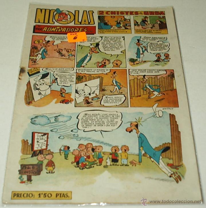 NICOLAS Nº 53 - CLIPER - ORIGINAL LEER TODO (Tebeos y Comics - Cliper - Nicolas)