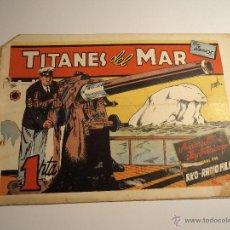 BDs: TITANES DEL MAR. CLIPER. CON LOS CROMOS. Lote 42858322