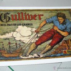 Tebeos: TEBEOS-COMICS CANDY - CUENTOS SELECTOS - CLIPER - 1942 - GULLIVER EN EL PAIS DE LOS ENANOS *CC99. Lote 43149040